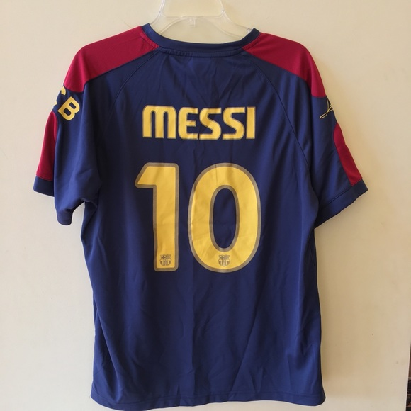 the latest 497b9 9a210 FC Barcelona #10 Lionel Messi Jersey